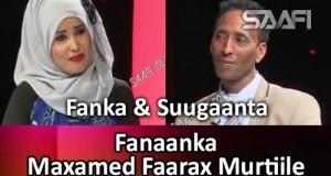 Fanaanka Maxamed Faarax Murtiile